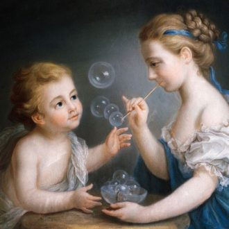 Кода появились мыльные пузыри?