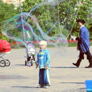 Шоу мыльных пузырей ФЕНСИ БАБЛС