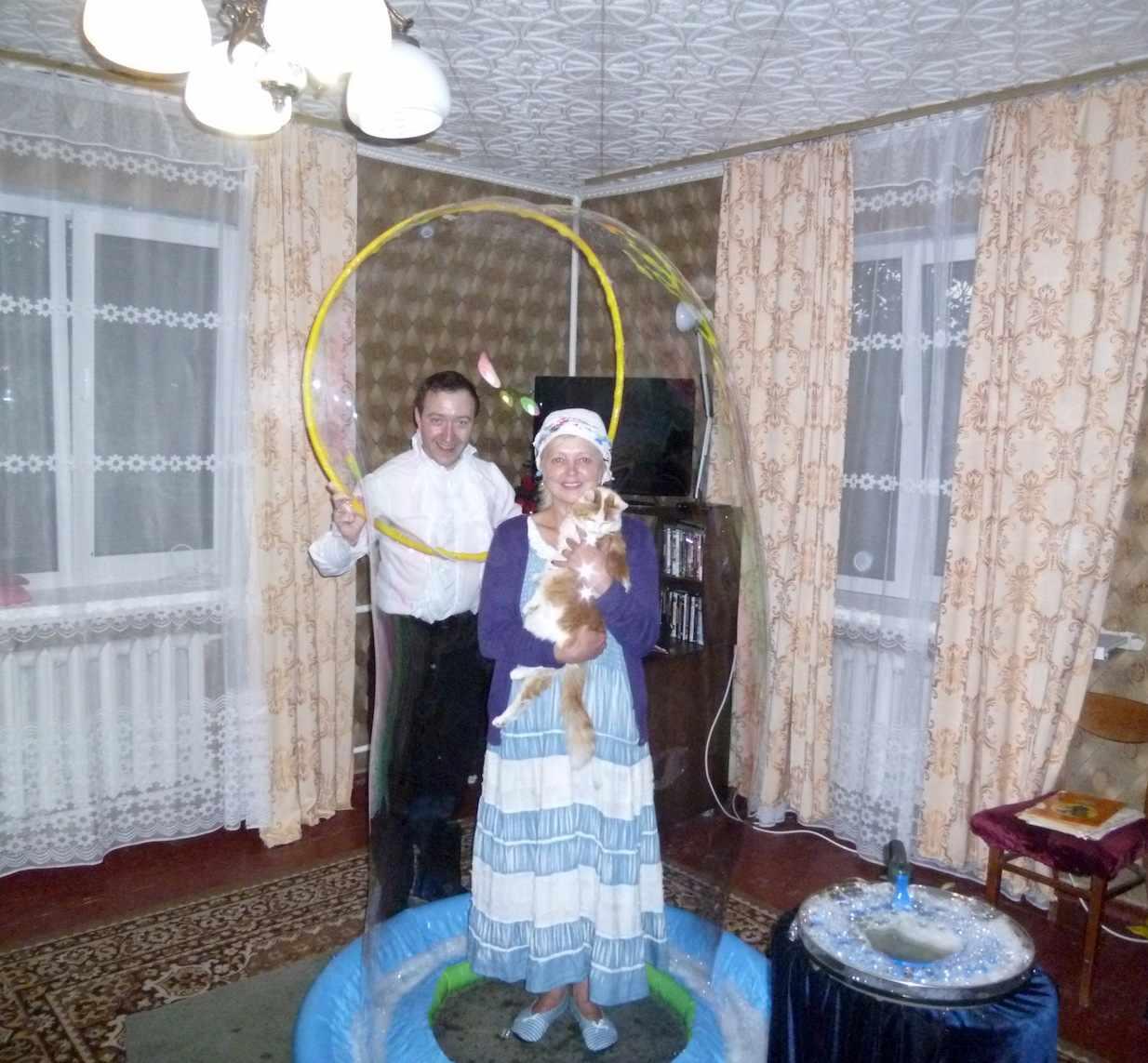 FANCY BUBBLES. Шоу мыльных пузырей в Киеве