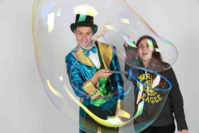 FANCY BUBBLES. Шоу мыльных пузырей