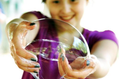 "Мастер класс ""Школа мыльных пузырей"""