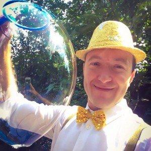 Шоу мыльных пузырей ФЕНСИ БАБЛС. FANCY BUBBLES