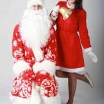 Дед Мороз и эльф