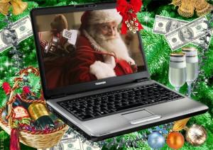 Новогоднее видео поздравление от Деда Мороза