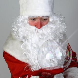 Новогоднее шоу мыльных пузырей