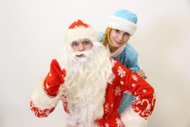 Дед Мороз и Снегурочка фото артистов